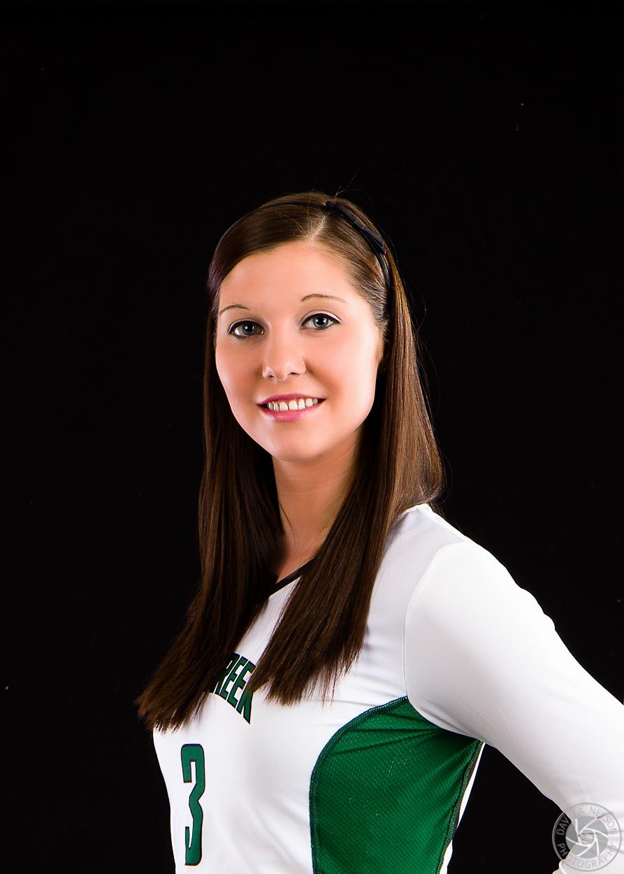 Em's Senior Volleyball Portrait